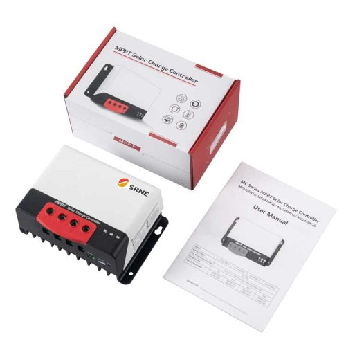 SRNE 20A MPPT solar charge controller