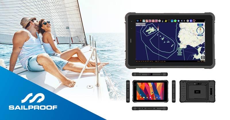 SailProof Waterproof Rugged Tablet