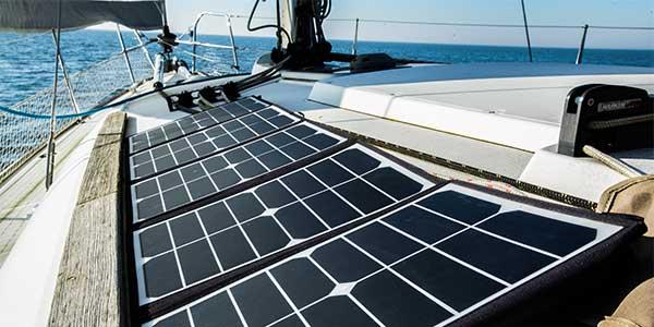Foldable solar panel 75w