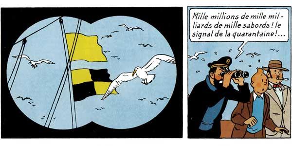 Tintin, Le Temple du Soleil