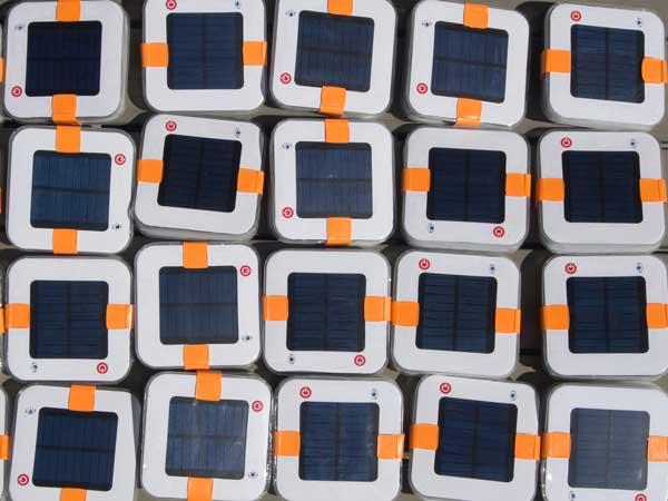 SailProof solar lantern battery maintenance