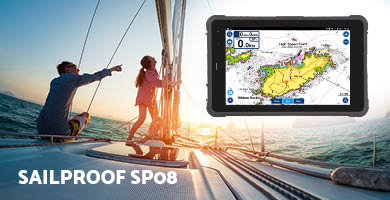 SailProof SP08 rugged tablet