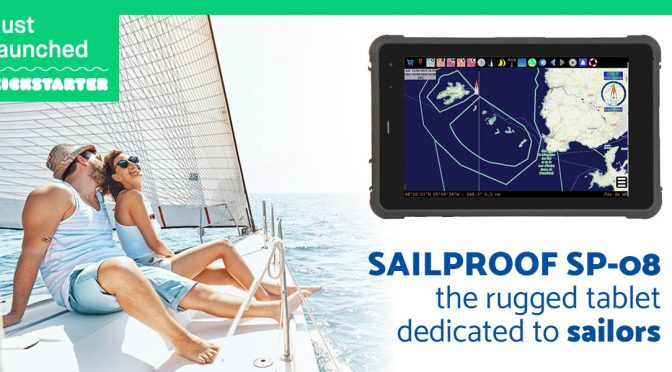 SailProof SP-08 rugged tablet