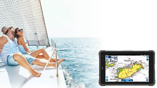 SailProof rugged tablet