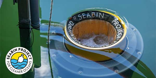 Sailproof supports the Seabin Project