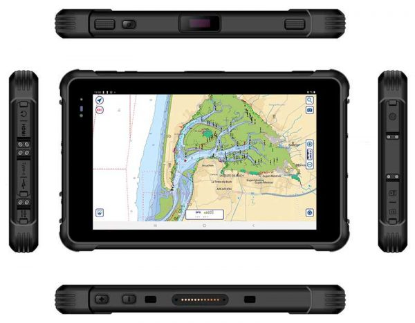 Sailproof SP-08 rugged tablet for sailors