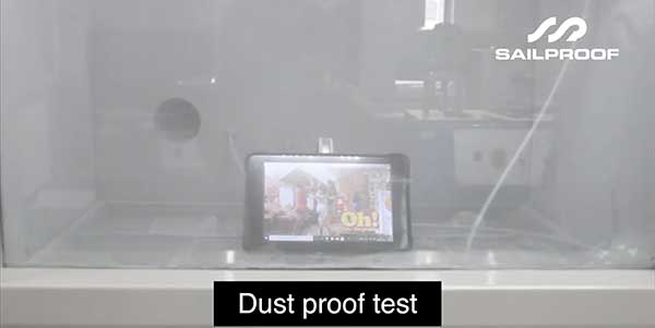 Dust proof test