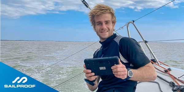 Alexis Thomas skipper Circuit Figaro SailProof